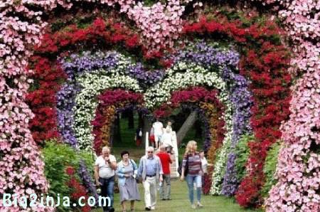 عکس های دیدنی و جالب جشنواره گل تا . . .