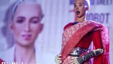تصویر از  عکس های دیدنی و جالب  از سخنرانی سوفیا روبات انساننما تا . . .