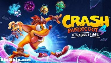 تصویر از تریلر لایو اکشن ژاپنی Crash Bandicoot 4: It's About Time