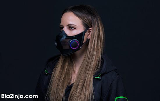 ماسک هوشمند ریزر برای گیمرها