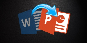 آموزش تبدیل فایل ورد به پاورپوینت