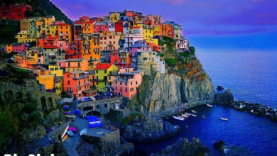 تصویر از پنج سرزمین ایتالیا + تصویر