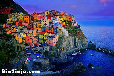 پنج سرزمین ایتالیا + تصویر