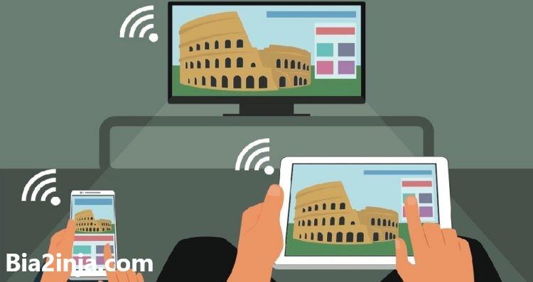 تصویر از روش های اتصال گوشی به تلویزیون
