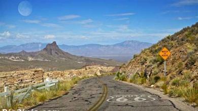 تصویر از 10 جاده بسیار دیدنی دنیا