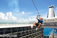 تصویر از تفریحات لوکس در کشتیهای کروز