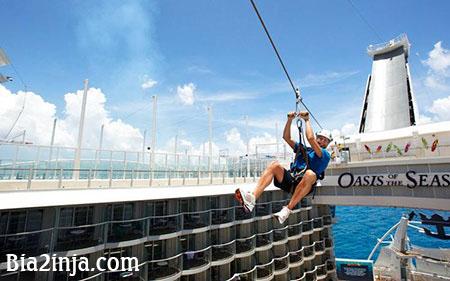 تفریحات لوکس در کشتیهای کروز