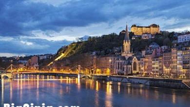 تصویر از مکانهای دیدنی شهر لیون فرانسه