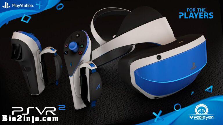 تصویر از دستگاه واقعیت مجازی برای ps5