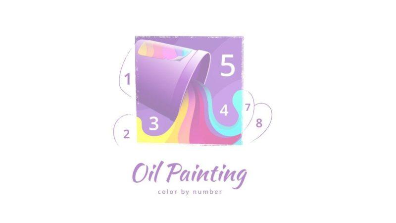 معرفی اپلیکیشن Color by Number Oil Painting