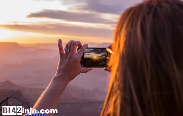 تصویر از چگونه در مسافرت با گوشی خود عکس بگیریم ؟